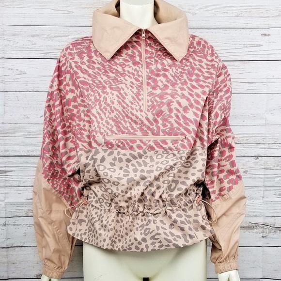 762d9a3ad0db Adidas by Stella McCartney Jackets & Blazers - Stella McCartney Adidas  Leopard Half Zip Jacket